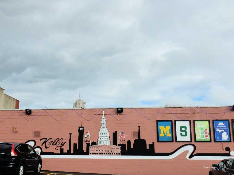 Downtown Lansing Michigan Mural