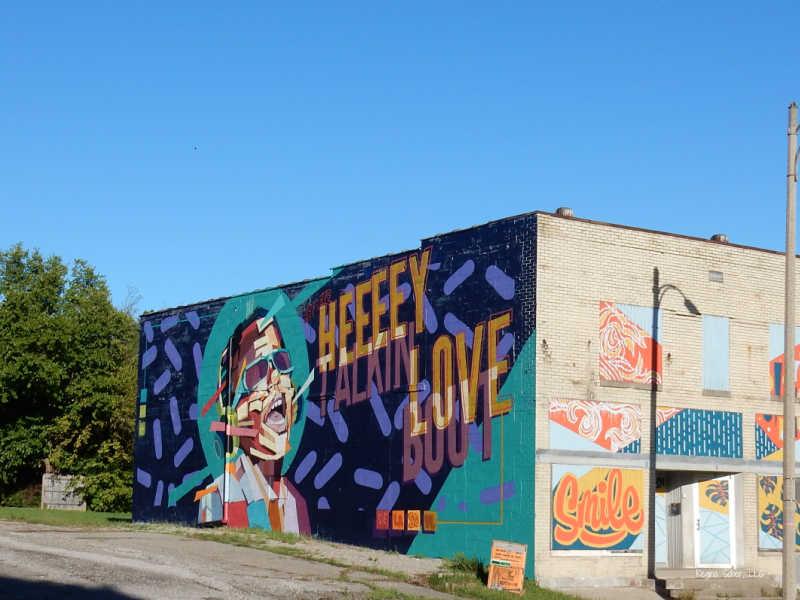 Mural Stevie Wonder Tribute