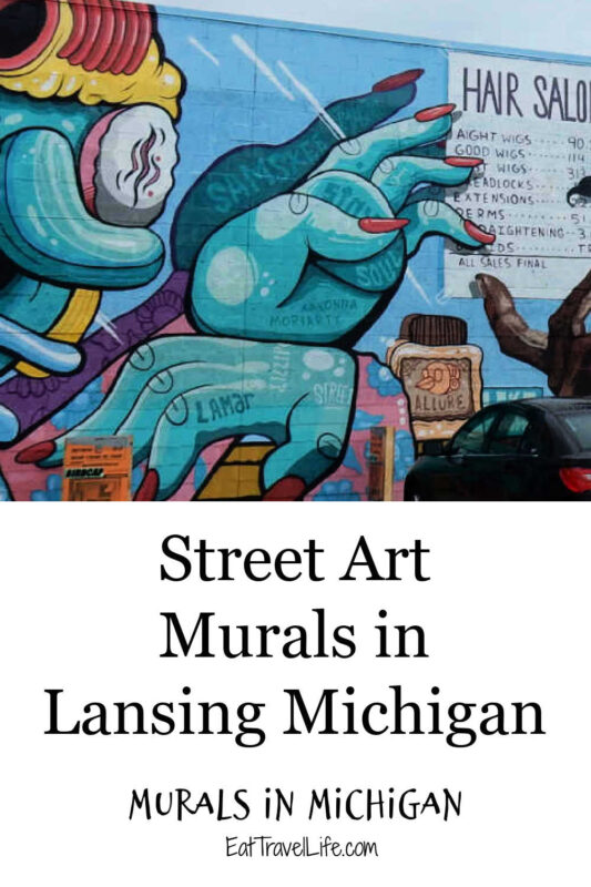 Do you enjoy finding street art? Lansing Michigan has several murals located all over the city. We've found over 35 for you to enjoy.