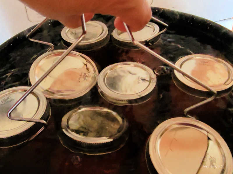 water bath canning