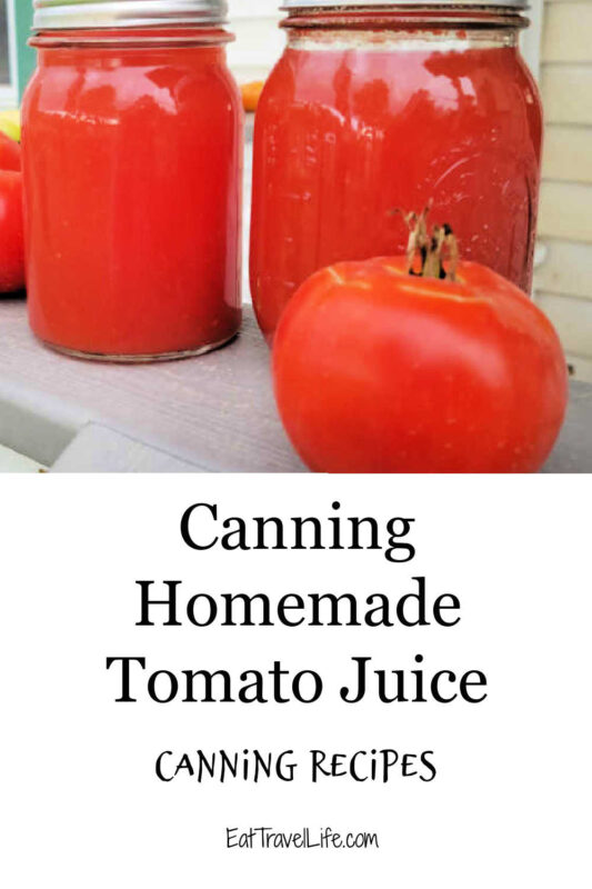 Easy, simple and delicious. Canning tomato juice is a great way to can your own food. We've got simple & easy instructions to help you process your own tomatoes.
