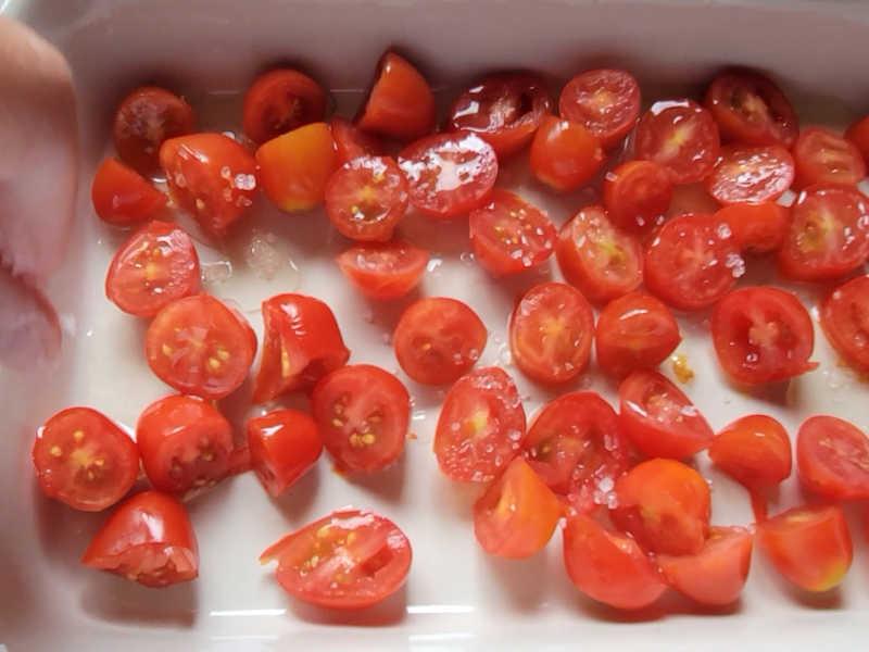 baking cherry tomatoes
