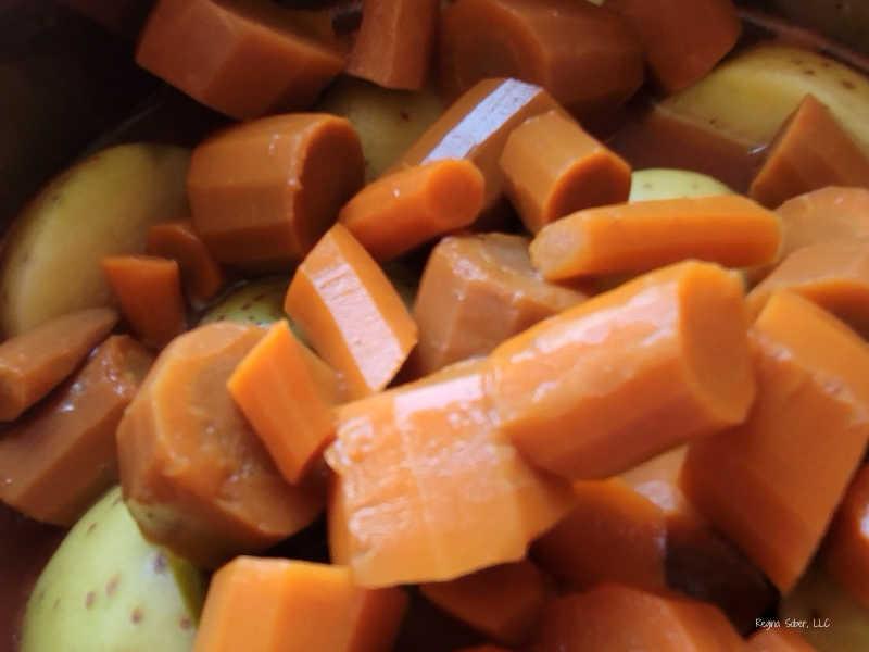 vegetables in IP
